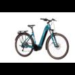 CUBE TOURING HYBRID ONE 400 EASY ENTRY blue´n´green Unisex Elektromos Trekking Kerékpár 2021