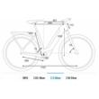 CUBE TOURING HYBRID EXC 500 TRAPÉZ iridium´n´green Női Elektromos Trekking Kerékpár 2021