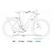 CUBE TOURING HYBRID PRO 500 TRAPÉZ grey´n´orange Női Elektromos Trekking Kerékpár 2021