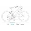 CUBE CROSS HYBRID PRO 625 ALLROAD TRAPÉZ desert´n´orange Női Elektromos Cross Trekking Kerékpár 2021
