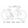 CUBE KATHMANDU HYBRID PRO 500 EASY ENTRY black´n´blue Unisex Elektromos Trekking Kerékpár 2021