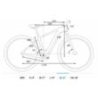 CUBE REACTION HYBRID PRO 625 petrol´n´orange Férfi Elektromos MTB Kerékpár 2021