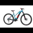 Cube Reaction Hybrid Performance 400 TRAPÉZ blue´n´red Női Elektromos MTB Kerékpár 2021