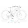 Cube Reaction Hybrid Performance 400 TRAPÉZ ALLROAD iridium´n´green Női Elektromos MTB Kerékpár 2021