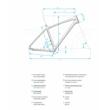 Haibike SDURO HardSeven Life 5.0 Női Elektromos MTB Hardtail Kerékpár 2020