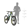KELLYS NOID 70 Férfi Donwhill Kerékpár 2019