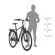 Kellys Carson E-90 Férfi Elektromos Trekking Kerékpár 2018