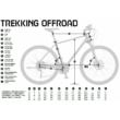 KTM LIFE ROAD Női Cross Trekking Kerékpár 2020 -Több Színben