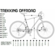 KTM LIFE TRACK STREET Férfi Cross Trekking Kerékpár 2020