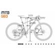 Ktm Ultra Fun 29 metallic blue (eve blue) Férfi MTB Kerékpár 2021