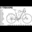 KTM MACINA SPORT 620  2020 Férfi Elektromos Trekking Kerékpár