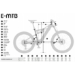 KTM MACINA CHACANA LFC Férfi Elektromos Összteleszkópos MTB Kerékpár 2021