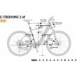 KTM MACINA CROSS 510 Férfi Elektromos Cross Trekking Kerékpár 2022