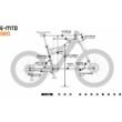 KTM MACINA KAPOHO PRO Férfi Elektromos Összteleszkópos Enduro MTB Kerékpár 2022