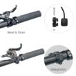 Litemove AE-130 (High/ Low Beam) STEM Elektromos Kerékpár Integrált Első Lámpa 2021
