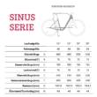 "Winora Sinus iN8f i500 28"" EASY ENTRY White Unisex Elektromos Városi Kerékpár 2021"