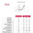 """Winora Tria N8 500 26"""" Black Matt EASY ENTRY Unisex Elektromos Városi Kerékpár 2021"""