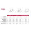 "Winora Tria 9 500 28"" Glaze Red TRAPÉZ Női Elektromos Trekking Kerékpár 2021"