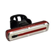 VELOTECH Pro 50 CHIPLED USB hátsó lámpa, 100 lumen, piros, alu