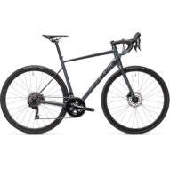 "CUBE ATTAIN SL GREY´N´BLACK 28"" 2021"