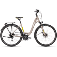 """CUBE TOURING PRO GREY´N´GREEN 28"""" EASY ENTRY 2021"""