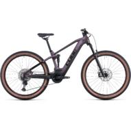 CUBE STEREO HYBRID 120 RACE 625 SMOKYLILAC´N´BLACK 29 Női Elektromos Összteleszkópos MTB Kerékpár 2022