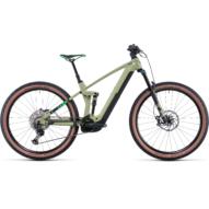 CUBE STEREO HYBRID 140 HPC SL 750 29 GREEN´N´FLASHGREEN Férfi Elektromos Összteleszkópos MTB Kerékpár 2022