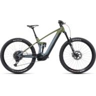 CUBE STEREO HYBRID 140 HPC TM 750 29 FLASHGREY´N´OLIVE Férfi Elektromos Összteleszkópos MTB Kerékpár 2022