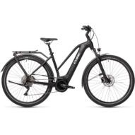CUBE TOURING HYBRID PRO 500 TRAPÉZ black´n´white Női Elektromos Trekking Kerékpár 2021