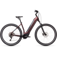 CUBE NURIDE HYBRID PRO 500 berry´n´grey Unisex Elektromos MTB Kerékpár 2021
