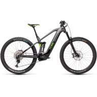 Cube Stereo Hybrid 140 HPC SL 625 iridium´n´green Férfi Elektromos Összteleszkópos MTB Kerékpár 2021