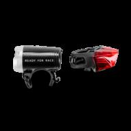 CUBE RFR Light Set Tour 35 USB Strap Kerékpár Lámpaszett 2021
