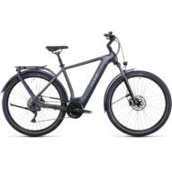 CUBE KATHMANDU HYBRID ONE 625 GREY'N'TEAK Férfi Elektromos Trekking Kerékpár 2022