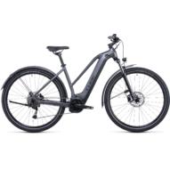 CUBE NURIDE HYBRID PERFORMANCE 625 ALLROAD TRAPÉZ GRAPHITE´N´BLACK Női Elektromos Cross Trekking Kerékpár 2022