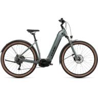 CUBE NURIDE HYBRID PRO 625 ALLROAD EASY ENTRY SILVERGREEN´N´BLACK Uniszex Elektromos Cross Trekking Kerékpár 2022