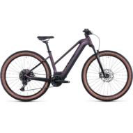 CUBE REACTION HYBRID EXC 750 29 TRAPÉZ SMOKYLILAC´N´BLACK Női Elektromos MTB Kerékpár 2022