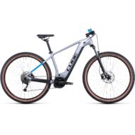 CUBE REACTION HYBRID PERFORMANCE 625 27.5 POLARSILVER´N´BLUE Férfi Elektromos MTB Kerékpár 2022