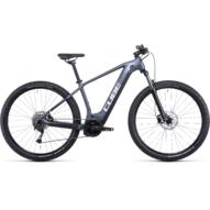CUBE REACTION HYBRID PERFORMANCE 500 29 METALLICGREY´N´WHITE Férfi Elektromos MTB Kerékpár 2022