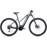 CUBE REACTION HYBRID PERFORMANCE 625 29 TRAPÉZ METALLICGREY´N´WHITE Női Elektromos MTB Kerékpár 2022