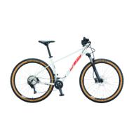 Ktm Ultra Flite 29 white (black+fire orange) Férfi MTB Kerékpár 2021