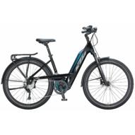 KTM MACINA GRAN 271 metallic black (grey+orange) Unisex Elektromos Trekking Kerékpár 2021