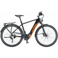 KTM MACINA SPORT 630 TRAPÉZ metallic black (orange) Női Elektromos Trekking Kerékpár 2021