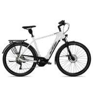 KTM MACINA TOUR CX 610 metallic white (grey+golden green) Férfi Elektromos Trekking Kerékpár 2021