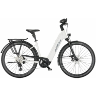KTM MACINA STYLE 720 WHITE Férfi Elektromos Trekking Kerékpár 2022