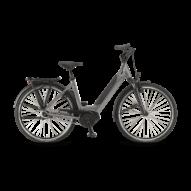 """Winora Sinus iN8 i500 28"""" EASY ENTRY Moongrey Unisex Elektromos Városi Kerékpár 2021"""