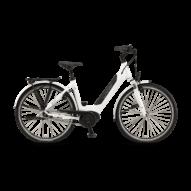 "Winora Sinus iN8 i500 26"" EASY ENTRY White Unisex Elektromos Városi Kerékpár 2021"