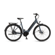 "Winora Sinus iR8f i500 28"" EASY ENTRY Blue Unisex Elektromos Városi Kerékpár 2021"