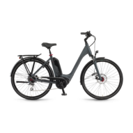 "Winora Tria 8 400 28"" Dullgray Matt EASY ENTRY Unisex Elektromos Trekking Kerékpár 2021"