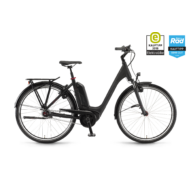 "Winora Tria N8f 500 28"" Black Matt EASY ENTRY Unisex Elektromos Városi Kerékpár 2021"