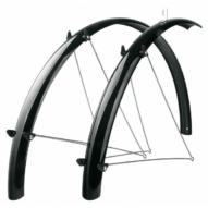 """SKS-Germany Fender Set 26"""" kerékpár sárvédő szett [fekete, 56 mm]"""